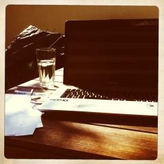 Alison's desk