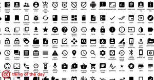 Material Design Icons, Google, CC BY-SA 4.0, via ccthing.tumblr.com