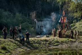 Set, cosplay scene, in which it can be seen that the influence of the Alternate Reality Game experiences flowed directly into the film development.